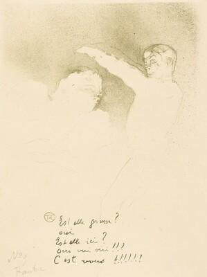 At the Varieties: Mlle. Lender et Brasseur (Aux variétiés: Mlle. Lender et Brasseur)