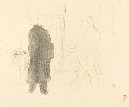 Antoine and Gémier in Une Faillite