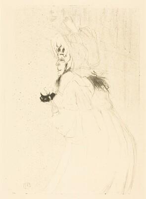 May Belfort Bowing (Miss May Belfort saluant)