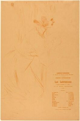 Program for La lepreuse  (Programme pour La lépreuse)