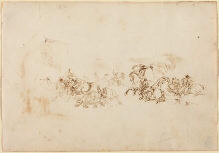 The Cavalry Combat