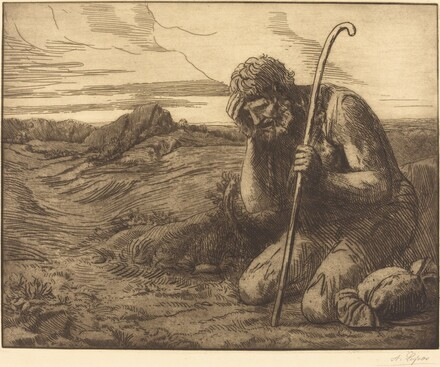 The Prodigal Son, 6th plate (L'enfant prodigue)