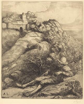 Sleeping Shepherd (Le repos du berger)