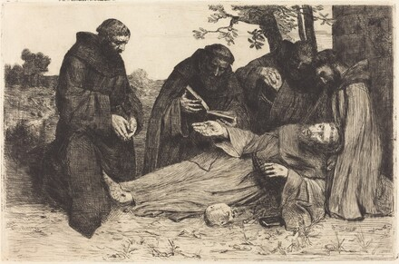 The Death of Saint Francis (La mort de St. Francois)