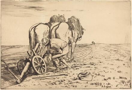 The Plow (La charrue)