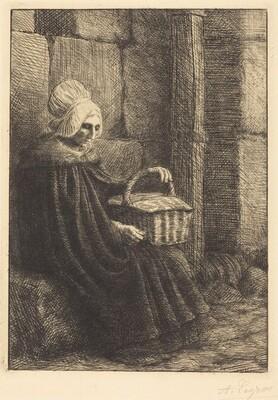 Peasant Woman of Boulogne (Paysanne des environs de Boulogne dite La femme au panier)