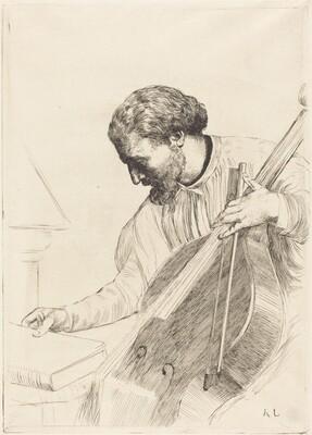 Contre-bass Player (Le joueur de contre-basse)