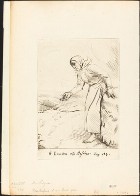 Frontispiece (The Beggar Woman of Veze)