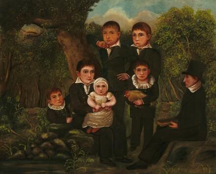 Abraham Clark and His Children