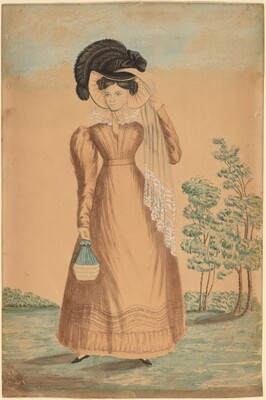 Woman with Plumed Hat
