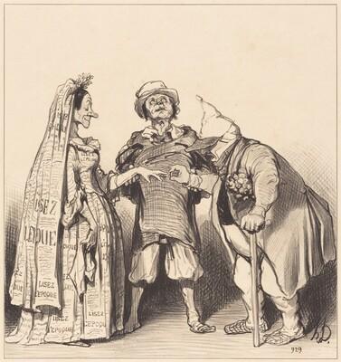 Mariage de l'Époque et du Constitutionnel
