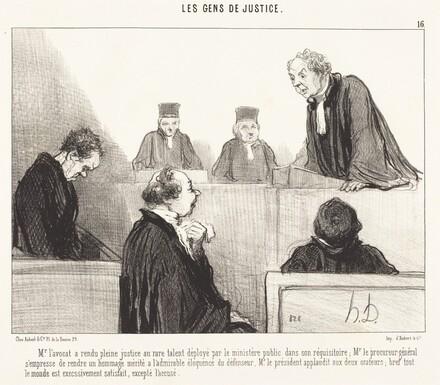 Mr. l'avocat a rendu pleine justice...