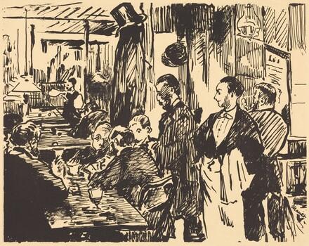At the Café (Au café)