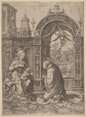 The Vision of Saint Bernard