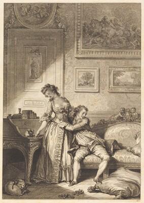 A femme avare galant escroc