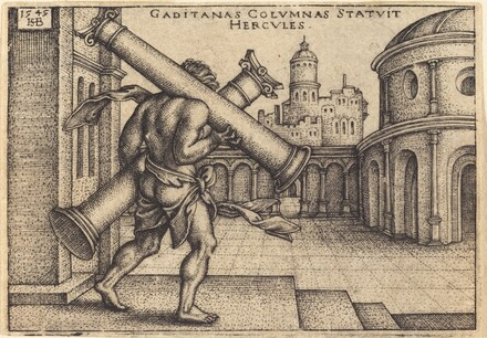 Hercules Carrying the Columns of Gaza