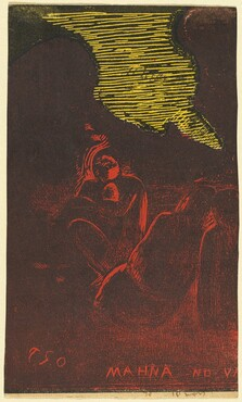 Mahna no Varua Ino (The Demon Speaks) [verso]