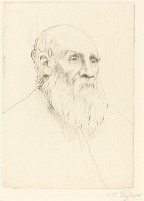 Head of an Old Man (Etude de tete)
