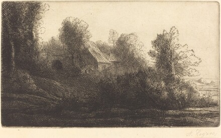View of a Farm, 2nd plate (La ferme de Bienheureux)