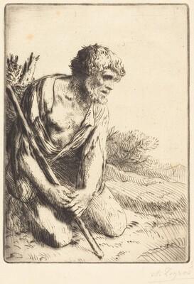 The Prodigal Son, 3rd plate (L'enfant prodigue)