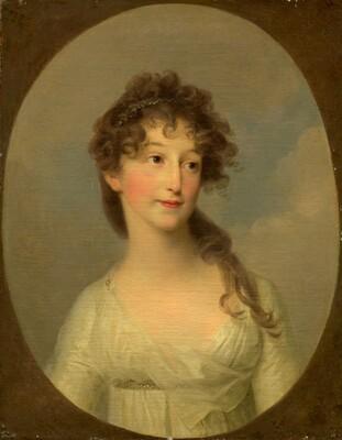 Possibly Franciska Krasinska, Duchess of Courland