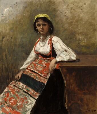 Italian Woman (La Morieri)