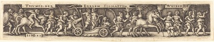 Triumphal Procession of the Noble Glorious Women