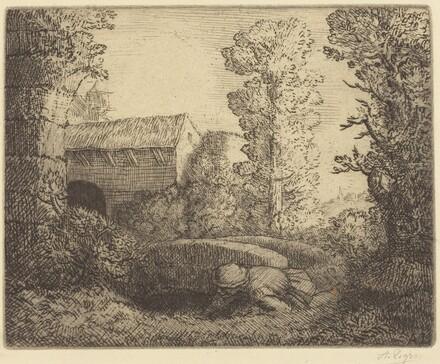 Bridge at the Mill (Le pont du moulin)