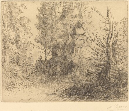 Landscape: Near Chailleux (Paysage: Pres Chailleux)