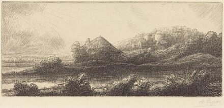 Hut in the Marsh (Cabane dans les marais)