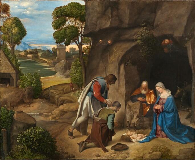 Giorgione, The Adoration of the Shepherds, 1505/15101505/1510