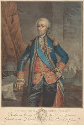 Charles Henri, Comte d'Estaing