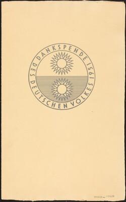 Dankspende des deutschen Volkes 1951 / Deutsche Graphik 1952