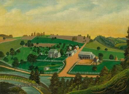 View of Benjamin Reber's Farm
