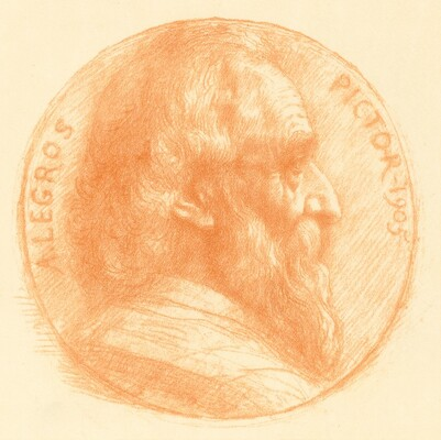Self-Portrait, Medallion, No.2, 11th plate