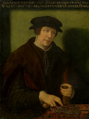 Portrait of an Almoner of Antwerp
