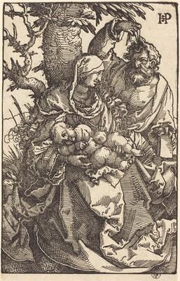 The Holy Family Under a Tree