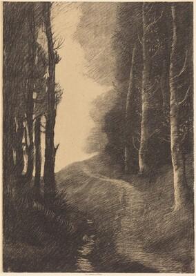 Landscape with Birch Trees (Le paysage aux bouleaux)