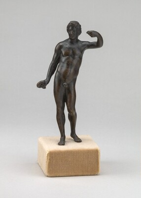 Male Nude with Raised Left Arm