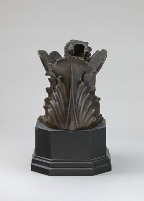 Object with Sphinx Head (Furniture Mount?)