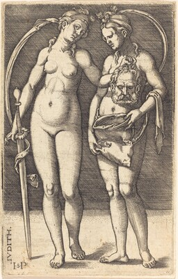 Judith and Her Servant Standing