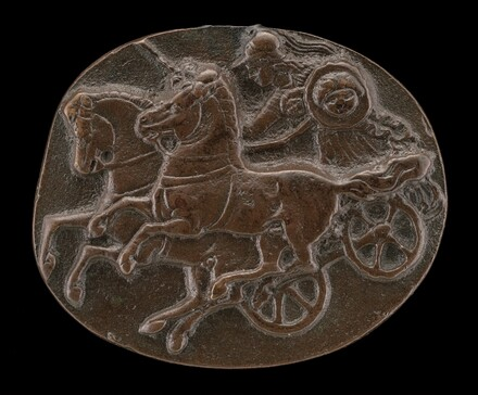 Minerva on a Chariot