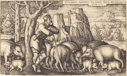 The Prodigal Son with the Swine