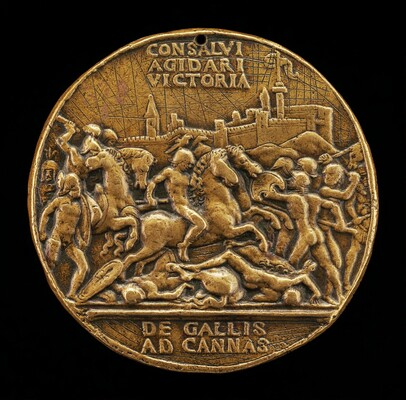 The Battle of Cannae [obverse]
