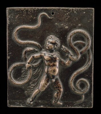 The Infant Hercules Strangling the Serpents