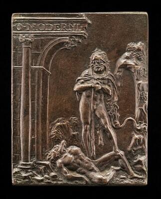 Hercules Triumphant over Antaeus