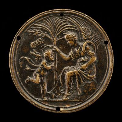 An Allegorical Scene (Fame Crowning Eros)