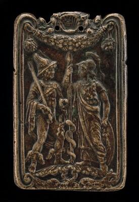 Mercury and Minerva [reverse]