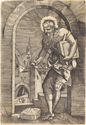 Saint Jerome at the Arch