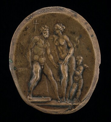 Neptune, Amphitrite and Cupid